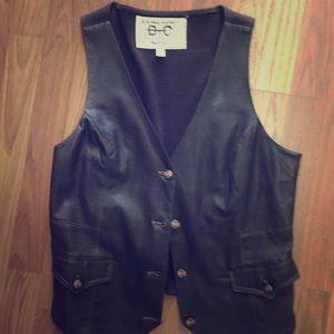 Leather vest Cheryl Crow vest